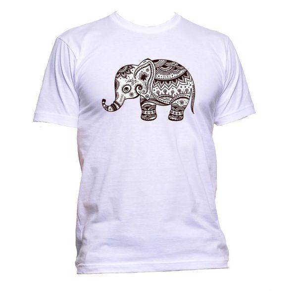 Ethnic Baby Elephant Drawing T-Shirt Mens Womens Unisex Fashion Slogan Comedy size discout hot new tshirt Tees Custom Jersey t shirt