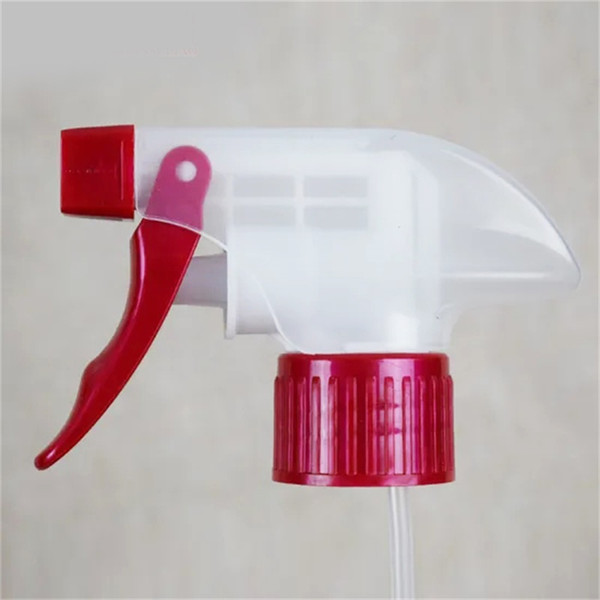 best selling 1.3 CC plastic kitchen household cleaning all plastic hand button Plastic Trigger Sprayerr PE Pet bottle sprayer