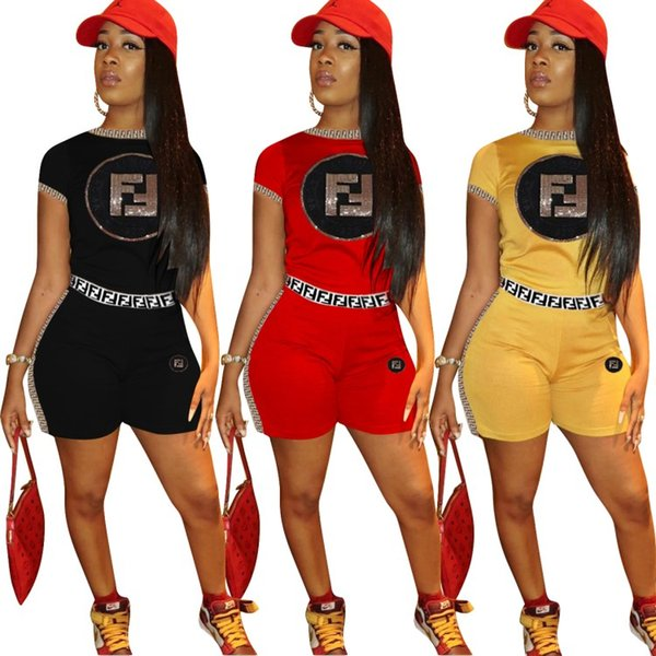 best selling women 2 piece set tracksuit shirt pants outfits short sleeve shirt pants sweatsuit pullover tights sportswear sports suit hot klw0864