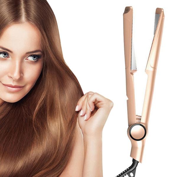 2-en-1 en spirale Utilisation des cheveux à quatre niveaux Contrôle de la température bigoudi Curling DEFRISEURS Pas Hurt Outils coiffants