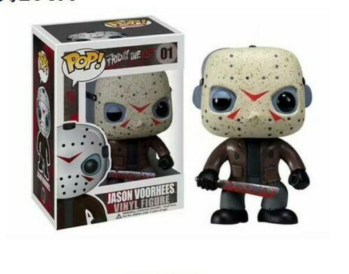 cute funko pop friday the 13th jason voorhees #01 action figure toy