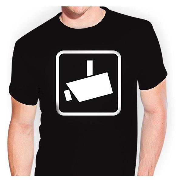 Vigilância de vídeo-tsf0378 T-Shirt Adesivo Bomba Adesivo Oem Tuning Engraçado frete grátis Unisex Tshirt top