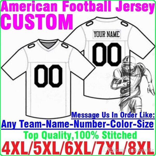 Personalisierte American Football Trikots Benutzerdefinierte Tennessee Denver College authentische billige Baseball Basketball Mens Womens Jugend USA 4xl Liga