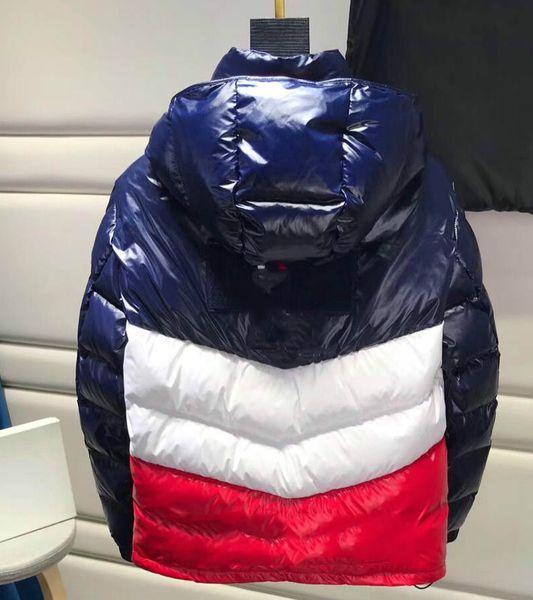 MensMoncler Jacket Casaco de Inverno casaco corta-vento Marca Zipper com capuz Grosso Outdoor Jackets Men Roupa manter quente Plus Size M-3XL