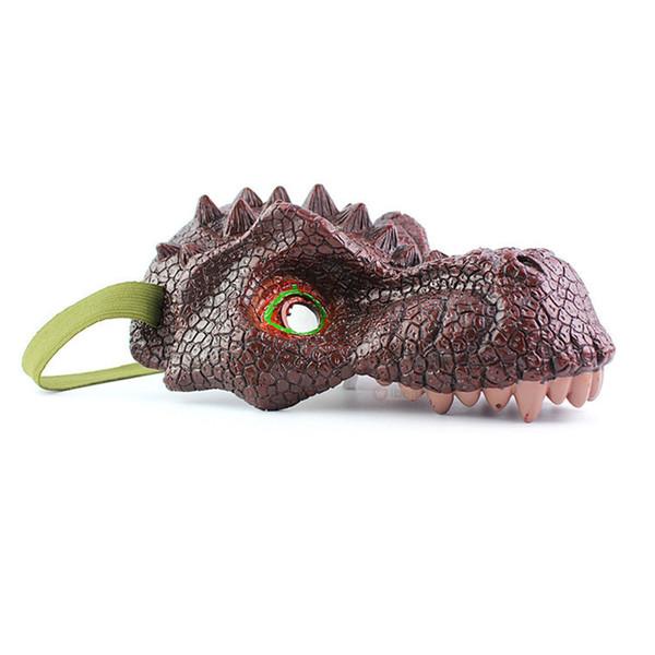 Bavaglio vestire Props bambini Halloween realistica del partito giocattolo ingannevole maschera di plastica modello animale