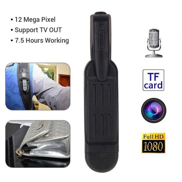 Mini Camera T189 Mini DV Camera Camcorder HD 1080P 720P Micro Pen Voice Video Recorder Digital Cam DVR Support TF card