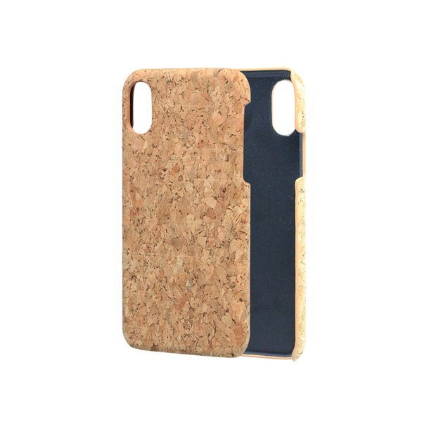 Eco-friendly Thin Soft Cork Wooden Mobile Phone Case For iPhone 5 6 7 8Plus X XS Wholesale