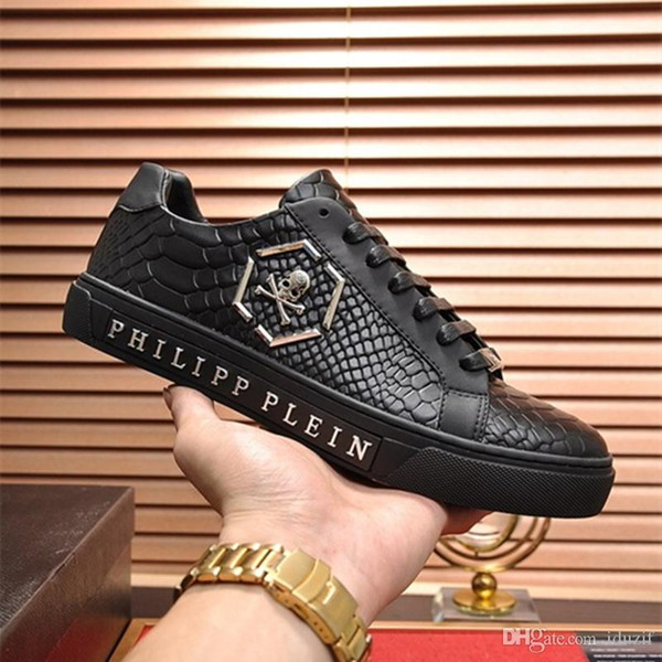Cheap Luxury Designer Brand Genuine Leather Men Sneakers Mens Race Runners Shoes Kanye West Casual Shoes Top Quality 38-44