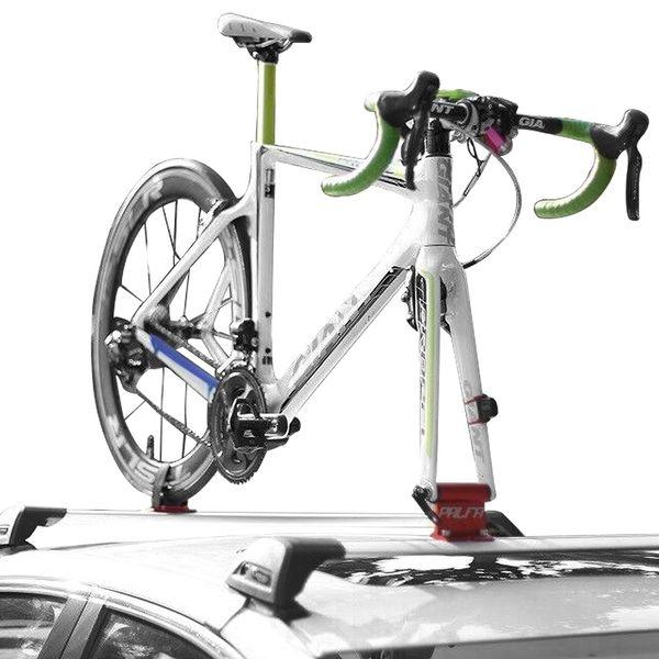 MTB Bisiklet Raf Araba Çatı Üst Emme Yol Bisikleti Raf Bisiklet Tutucu Taşıyıcı Hızlı Kurulum Enayi Çatı Bisiklet Aksesuarla # 107006