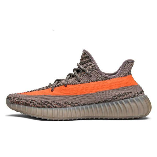 Gray Orange Stripe 36-45
