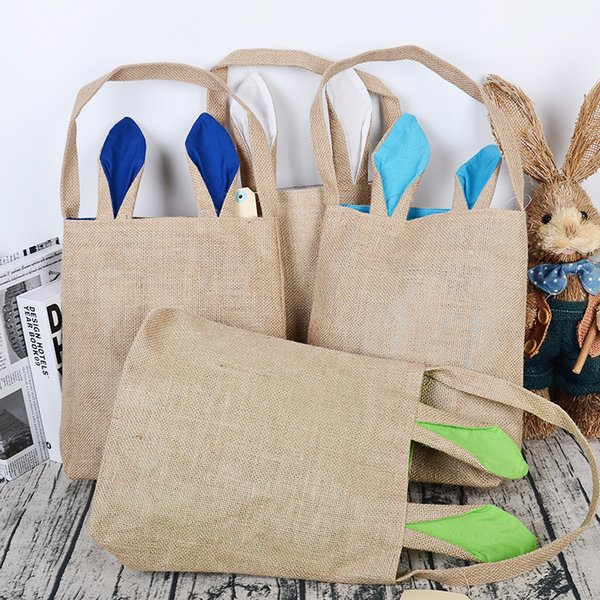 Sacs de lapin de Pâques Décorations de Pâques pour la maison oreille oreille Cadeau Sacs Drôle Mignon Lapin Fête D'anniversaire Fournitures b1131