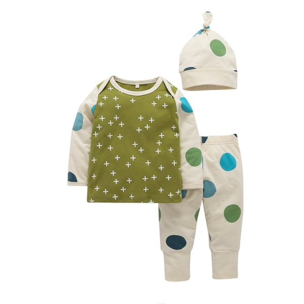 7b0c2f089 babies suits designs Promo Codes - Newest Factory Price Fashional Design  Dot Hat Kids Boys Tshirts