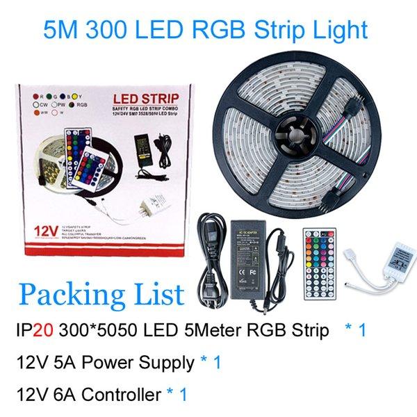 5050 RGB 5M / 5A 300LEDs IP20
