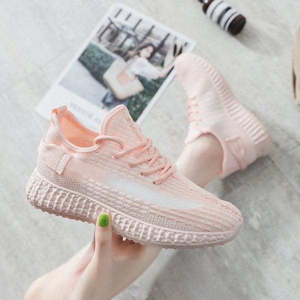 2019 women casual shoes fashion breathable walking mesh flat shoes woman sneakers women gym sport zapatillas mujer z12-43
