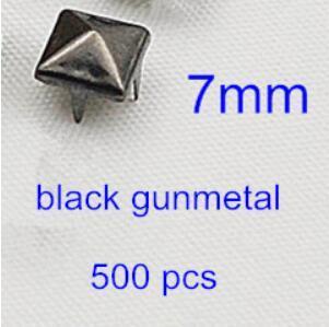 schwarzes Rotguss 7mm