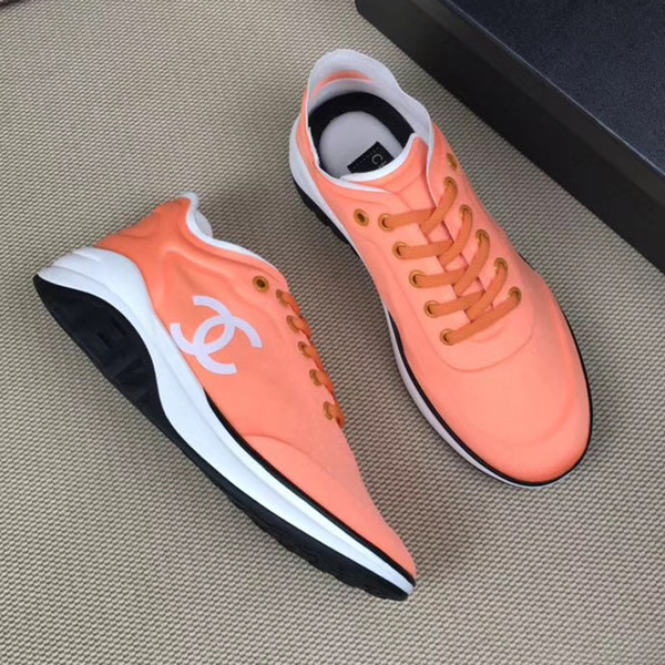 1b7f5f20d9531 2019 Chain Reaction Women'S Fashion Luxury Designer Shoes Outdoor Sports  Shoes Fashion Luxury Ladies Casual Shoelace Box Cheap Shoes Dansko Shoes  From ...