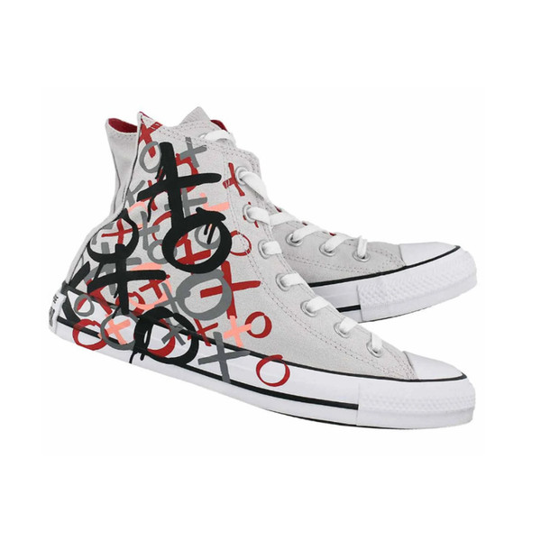 unisex designer shoes for women and men 2019 new high quality shoes Love graffiti printed high canvas shoes