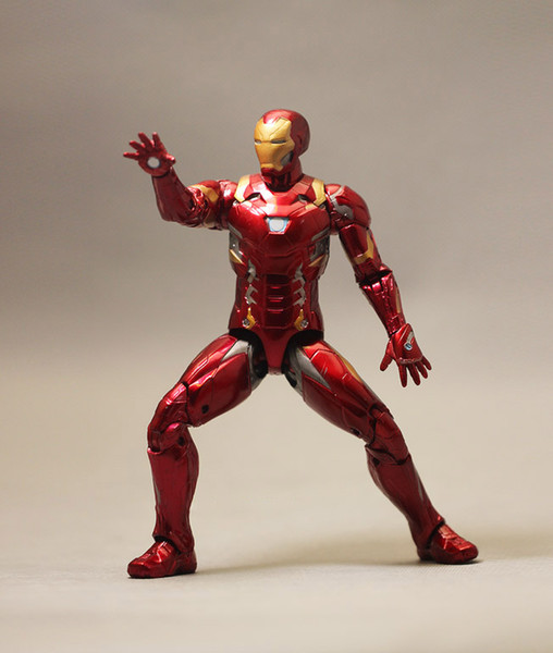 Avengers Endgame Iron Man MK46 Figure Action Figure tabletop decoration ,free shipping