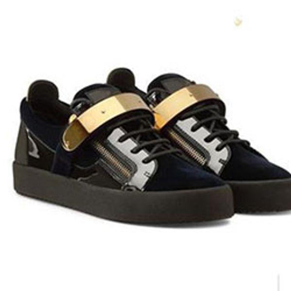 2020 New For Men Party Designer Sneakers Lovers Vera pelle High Top borchiati Spikes Casual Flats Red Bottom Scarpe di lusso A0123