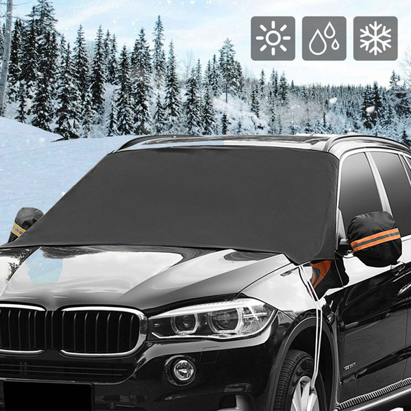 Hight Quality Car Accessories Auto Windshield Snow Cover Magnetic Waterproof Car Ice Frost Sunshade Protector Best Selling