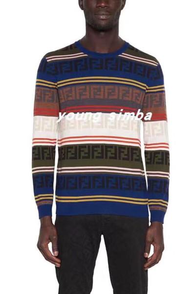 2020 FF женщины свитеры пуловеры F Письмо Цветого письмо Качества Вязание Блуза свитер Женщина заводское изготовление