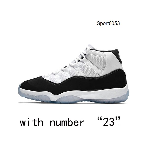 Concord with number 23
