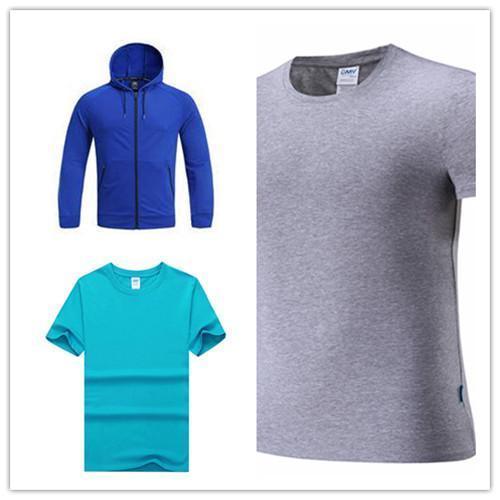 Erkekler POLO veya kadınları uzun gömlek Klasik İpek Elyaf Kısa Kollu Üniforma Tişört TDE-227