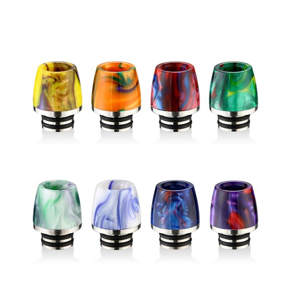 New vape drip tip 510 resin rda strap candy sweet packaging 510 vape mouthpiece cheap electronic cigarette accessories