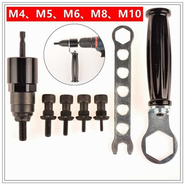 Electric Rivet Nut Gun riveting tool riveting Drill Adaptor Insert nut tool riveter adaptor M04-M10 T03021