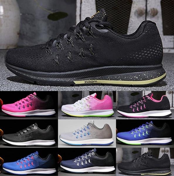 19 Colors Новейший воздуха Горячий продавать 35 воздуха Увеличить летать Pegasus 33 люкс Дешевые дышащий Спорт на открытом воздухе Теннис обувь Мужчины Женщины