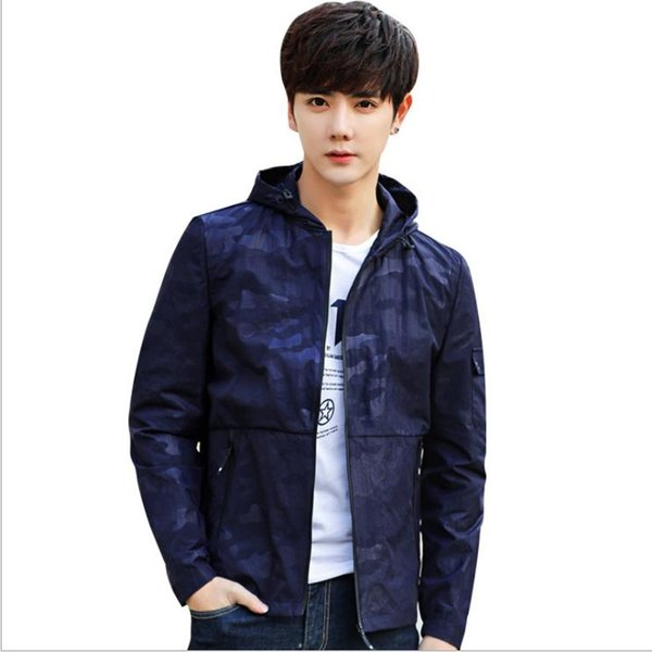 Skin clothing 2019 couple models ultra-thin breathable outdoor sports large size sun protection clof jacket men's fishing sunscreen clothing