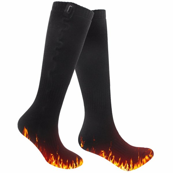 1 Pair 5V USB Heated Socks for Chronically Cold Feet for Women and Men Cold outdoor sports Cotton Socks Thermal Winter
