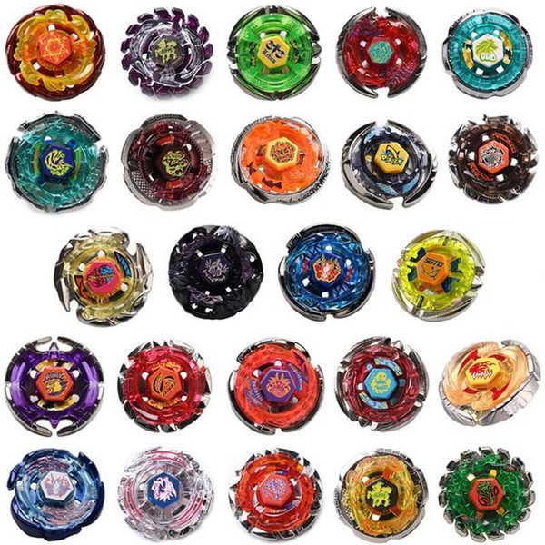 top popular 24 Styles 4D Spinning Top Toy Beyblade burst Metal Fusion Arena Blades Toy Without Launcher Game Toys For Kids Brinquedo 2019