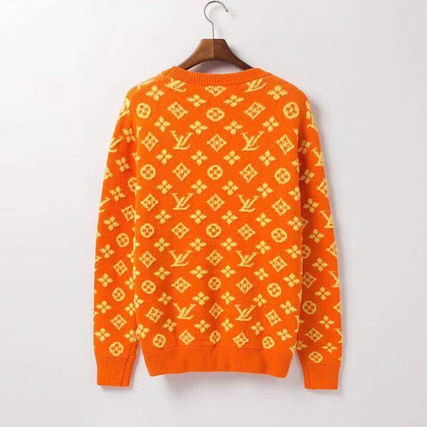 Роскошный дизайн свитера для мужчин женщин осень Брэнд Кардиган свитер пальто с Letters Pattern моды мужские свитера Топы Одежда S-2XL