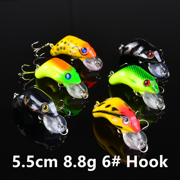 5.5cm 8.8g 6# Hook