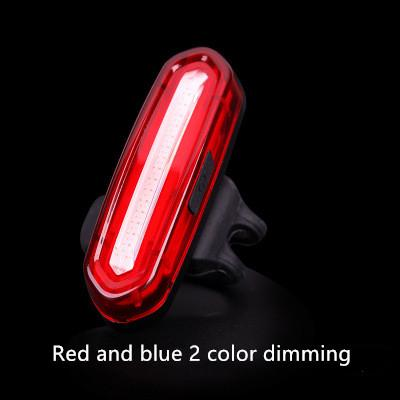 Red and blue 2 color dimming