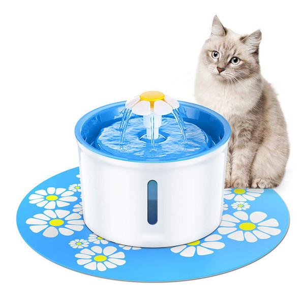 Fonte do gato Beber 1.6L Pet Automática Fonte de Água Pet Dispenser Dispensador de Água Do Cão Do Gato Saúde Caring Fonte de Água Feede