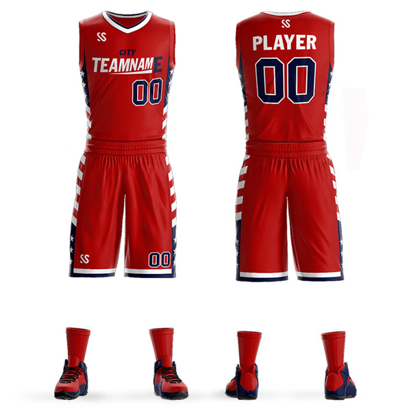 3486e0885a2ea 2019 Wholesale Cheap Adult Youth Basketball Uniforms Custom Basketball  Jersey Team Sports Suits From Hongdixu, $91.38 | DHgate.Com