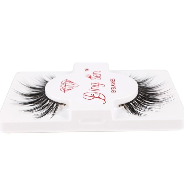 1 Pair High Quality False Eyelash Extension 3d Strip Lashes Faux Natural Eyelashes Extension Packaging #228127