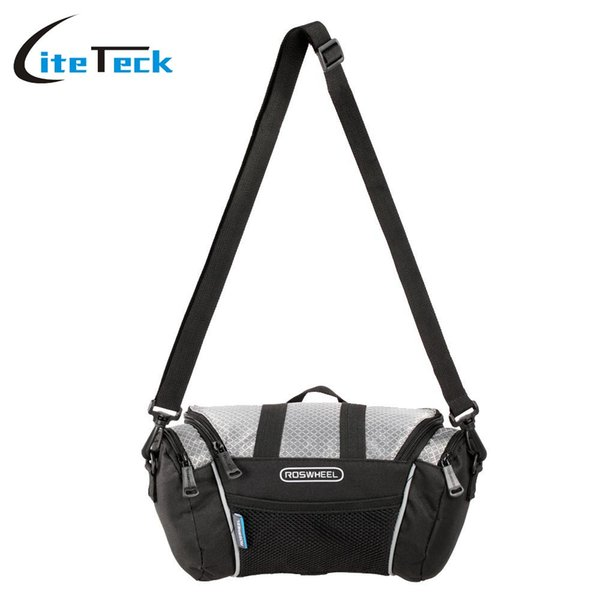Accessories Bags Panniers Roswheel Bicycle Bags Hot Sale Bicycle Frame Front Tube Bag for 4.8 Cell Phone PVC Bike Front