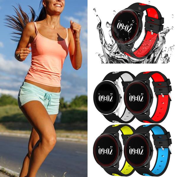 CF007 Montre intelligente de bracelet de montre intelligente de moniteur de fréquence cardiaque