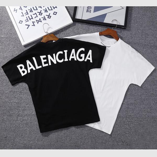 DESIGNER T-Shirt Mode Hommes à manches courtes en coton de haute qualité T-shirt à manches courtes Hip Hop T-shirt