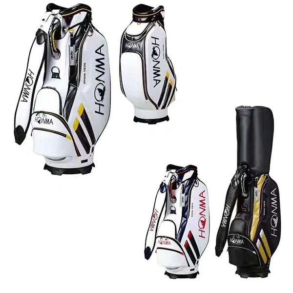 best selling Golf Bags HONMA Golf Cart Bag High Quality PU Leather Golf Clubs Bag 3Colors