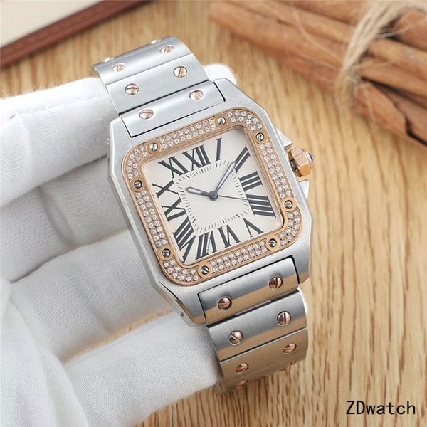 silver rose gold diamond