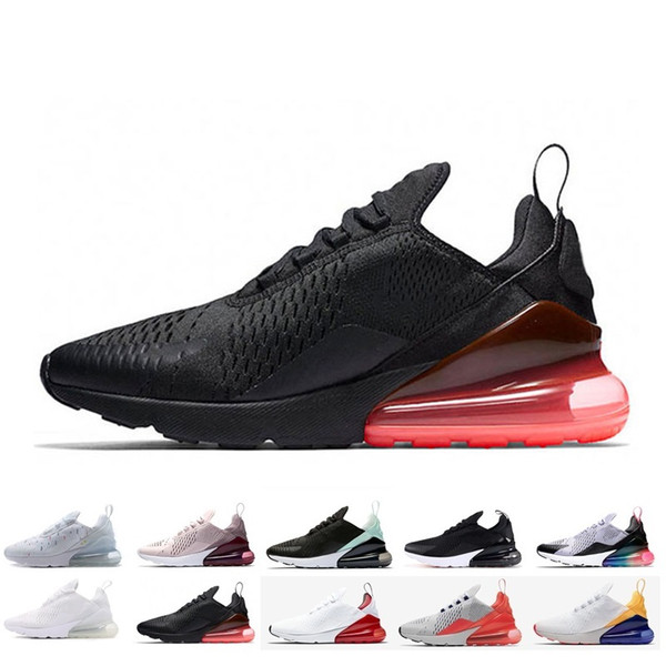 2019 Designer 270 Running Shoes Navy Teal Men Flair Triple Black Trainer  Sports Shoe Army Olive Bruce Womens 270c Sneakers Shoes 36 45 Running Shoes