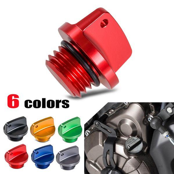 Plugue de tampão de enchimento de óleo para Honda CB CBR 250 300 400 500 1000 CB600F CBR600 / RR CBR1000RR 900 929 954 RR CBF600 VT750 VTR1000