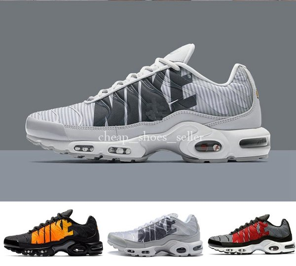 quite nice 2a141 41c72 2019 TN Plus Running Shoes Classic Runner Shoes TNS 2 Orange White Sport  Shock Sneakers Mens Shoes Womens Mercurial Tns Athletic Sneakers