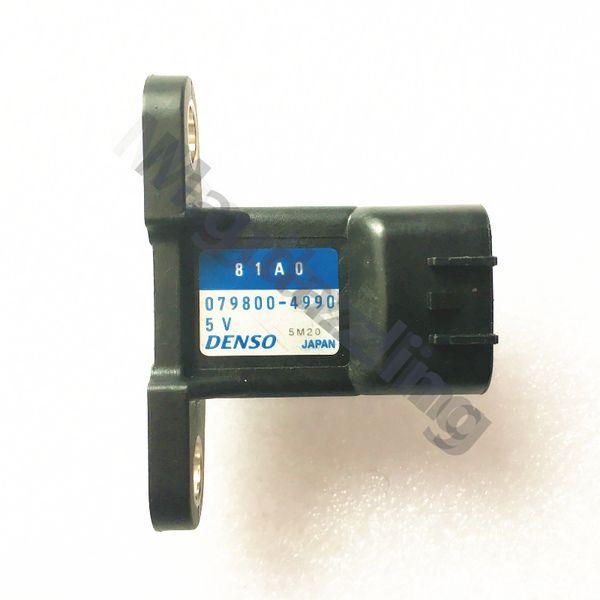 YENI OE 18590-81A00 81A0 079800-4990 18590-81A00-000 MAP sensörü, SUZUKI GSX600 / 750/1000 için emme hava basıncı sensörü