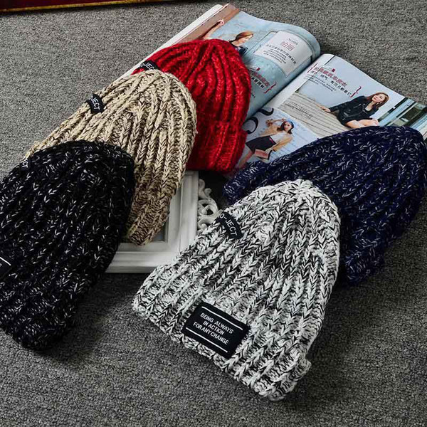 2018 New Chunky Soft Stretch Cable Knit Warm Fuzzy Lined Skully Beanie For Women Men