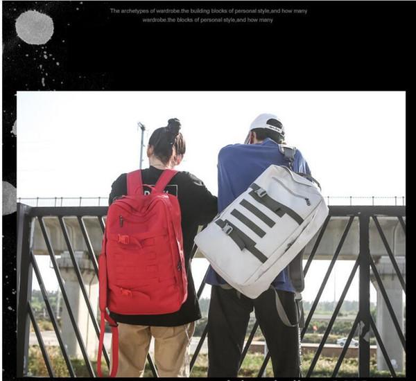 Sac à bandoulière décontracté original de grande marque pour hommes, grande capacité, en toile, sac pour élève, femme, version coréenne du voyage pour homme